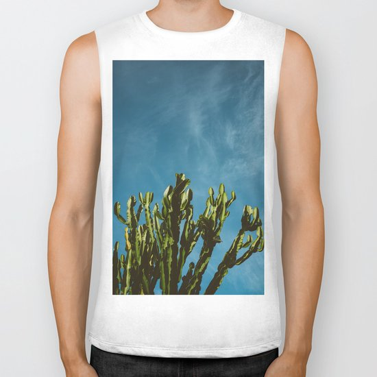 Cactus Sky Biker Tank