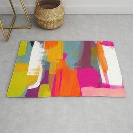 color study abstract art 2 Rug