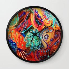 Last One- Lucky Wishbone/On Fire  Wall Clock