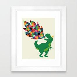 Rainbow Power Framed Art Print