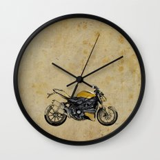 Ducati Streetfighter 848, 2012 Wall Clock