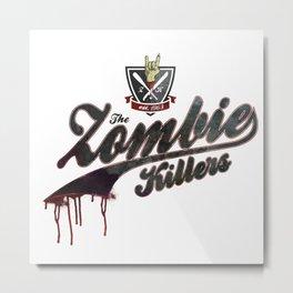 The Zombie Killers Metal Print