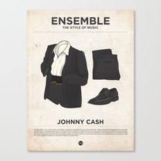 Ensemble - Johnny Cash Canvas Print
