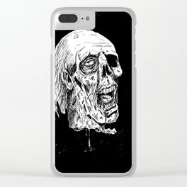 The Severed Head of Mine Enemy Clear iPhone Case