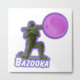 Bazooka Metal Print