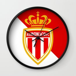 AS Monaco Wall Clock