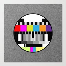 Television Color Test Canvas Print