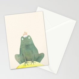 Frog prince Stationery Cards