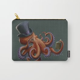 Tentacled Monocled Sir Carry-All Pouch