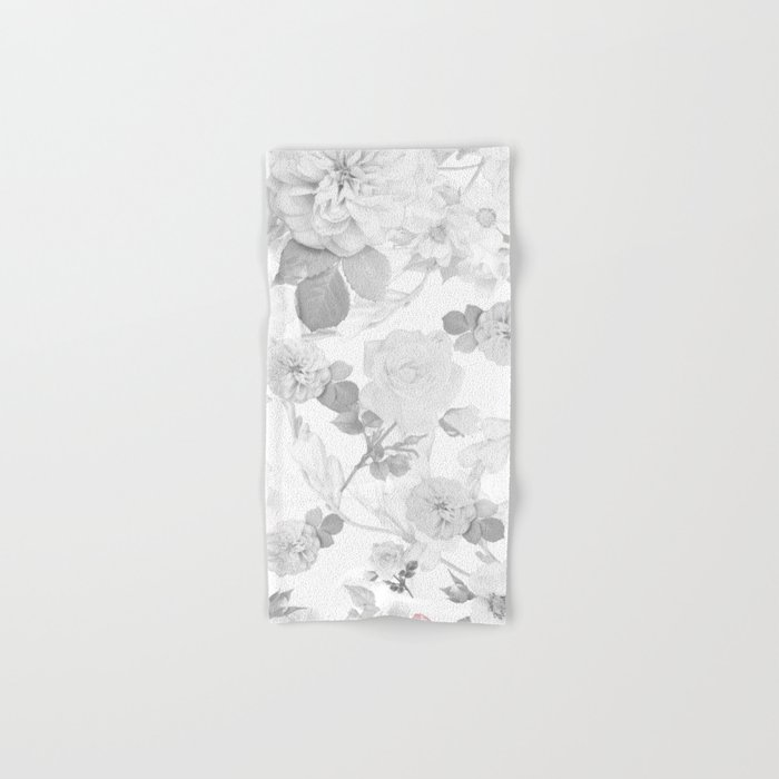 FLORAL DESIGN Hand & Bath Towel