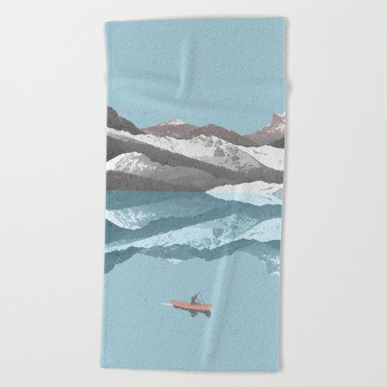 No River Wide Enough Beach Towel