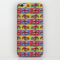 mini cooper iPhone & iPod Skins featuring mini cooper by Pedro Vale