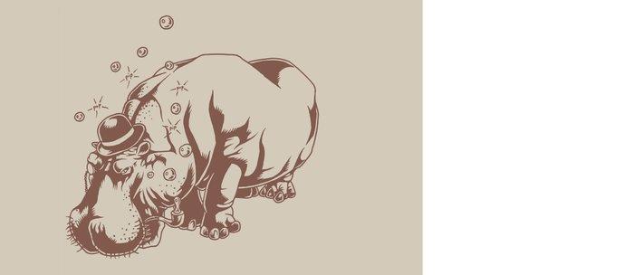 Hippo-Thesis Coffee Mug