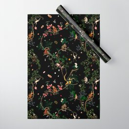 Monkey World Wrapping Paper