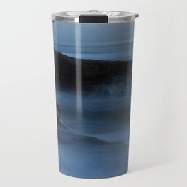 Ocean Beach San Diego Ca, Sunset Travel Mug