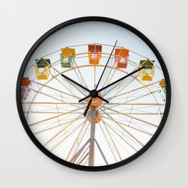 Summertime Fun Wall Clock