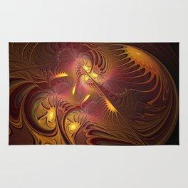 Coming Home, Abstract Fantasy Fractal Art Rug