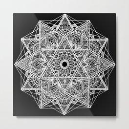 Untitled I (black) Metal Print