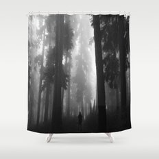 Ghostly Encounter's  Shower Curtain