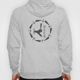 Brewery Beer Pub Handcrafted style Fashion Modern Design Print! Hoody