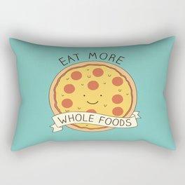 Whole foods! Rectangular Pillow