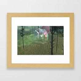 The Endless Forest - Floral Explosion Framed Art Print