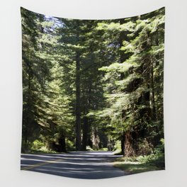 Humboldt State Park Road Wall Tapestry