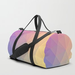 Abstract Polygons Duffle Bag