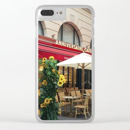 Anniversary Cafe and Restaurant Clear iPhone Case