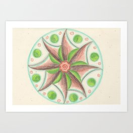 Element Mandala Art Print
