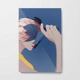 Blue Moods Metal Print