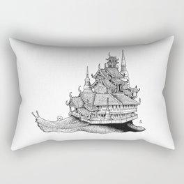 Snail Temple Rectangular Pillow