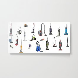 Vacuums Metal Print