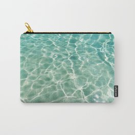 Clear Ocean Water Carry-All Pouch