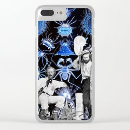 Haeckel's Cure for Arachnophobia Clear iPhone Case
