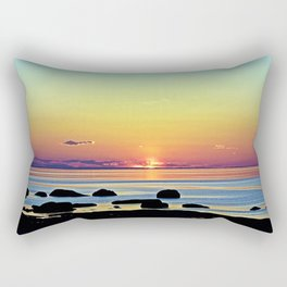 Summer's Glow Rectangular Pillow