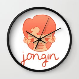 sleepy jongin Wall Clock