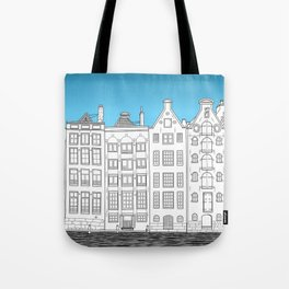 Dancing houses, Amsterdam Tote Bag