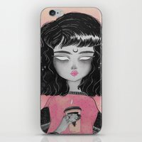 loll3 iPhone & iPod Skins featuring Beverly by lOll3