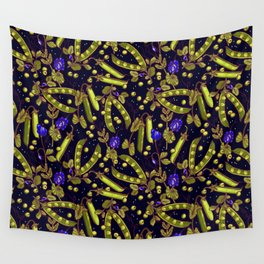Pea garden Wall Tapestry