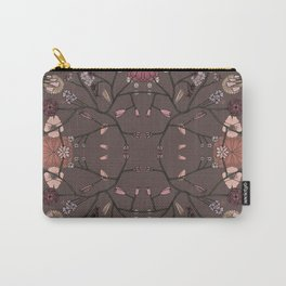 CONNECTED FLORAL II Carry-All Pouch