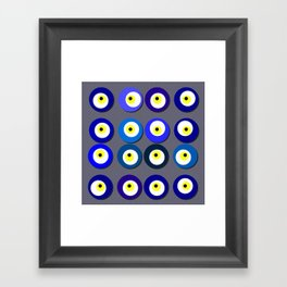 colors of attraction 3 Framed Art Print