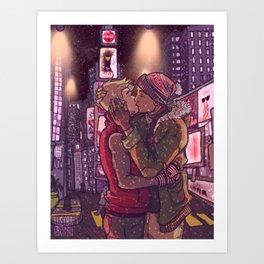 Times Square - Pynch Art Print