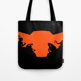 What future awaits her? Tote Bag