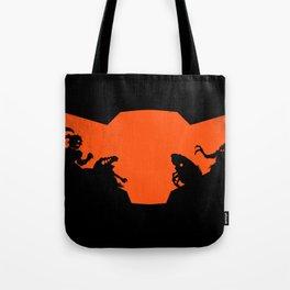 What future awaits her? Tote Bag