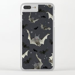 gone batty Clear iPhone Case