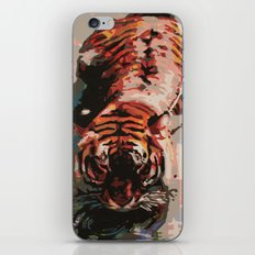 Tiger in the Water Painting iPhone & iPod Skin