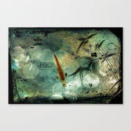 H2O Canvas Print