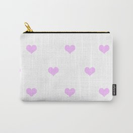 Cute heart pattern #society6 Carry-All Pouch