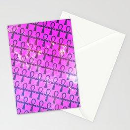 Ankh Pattern Stationery Cards